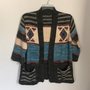 Sweaters - Folk Art Cardigan Sweater